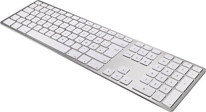 Matias Teclado inalámbrico de Aluminio FK418BTS-DE