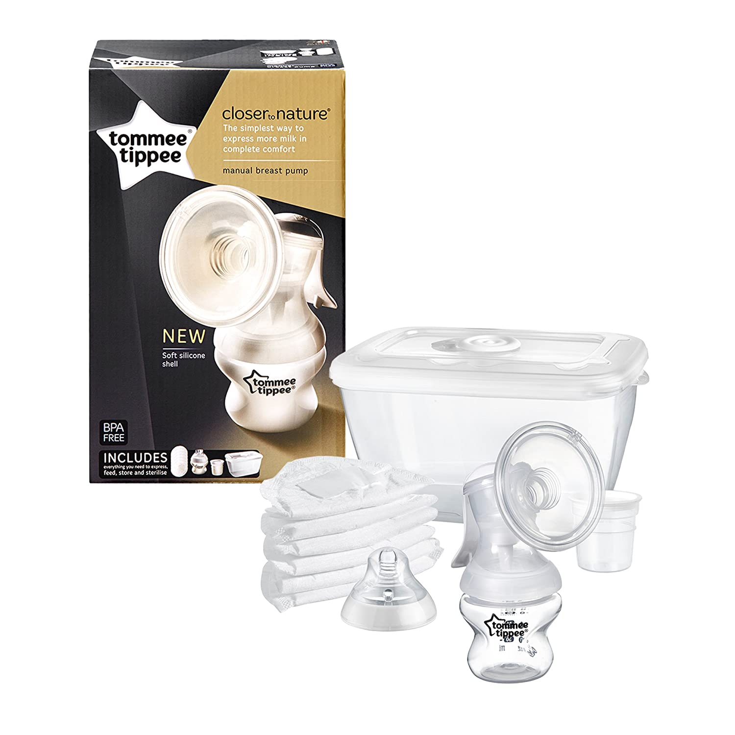 Tommee Tippee Closer to Nature Milchpumpen