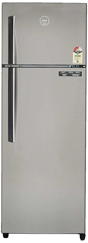 Godrej 290 L 3 Star Frost-Free Double Door Refrigerator (RF GF 2903 PTH STL YRN, Grey)