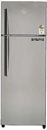 Godrej 290 L 3 Star ( 2019 ) Frost-Free Double Door Refrigerator (RF GF 2903 PTH STL YRN, Grey)