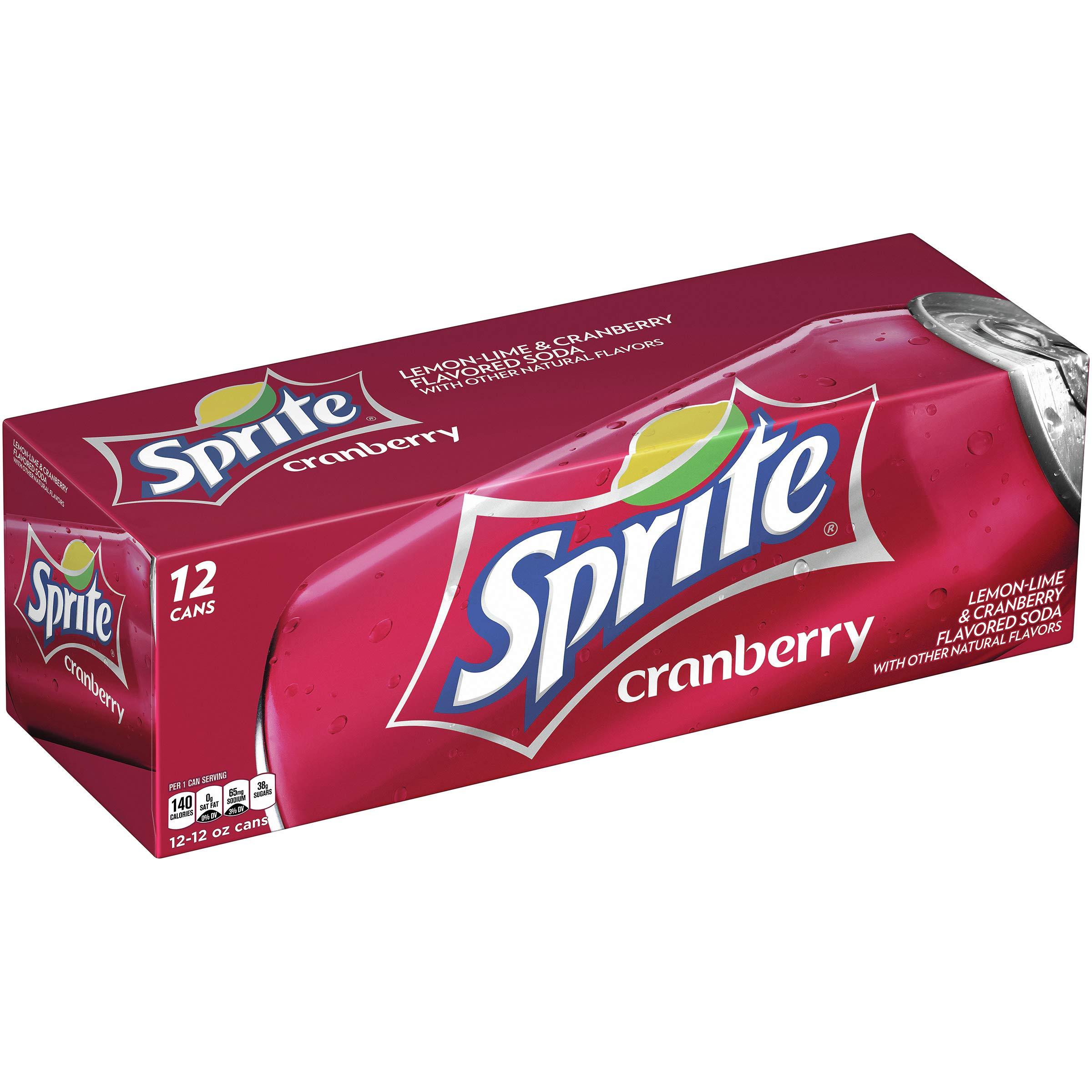 Sprite Cranberry, 12 fl oz, 12 Pack