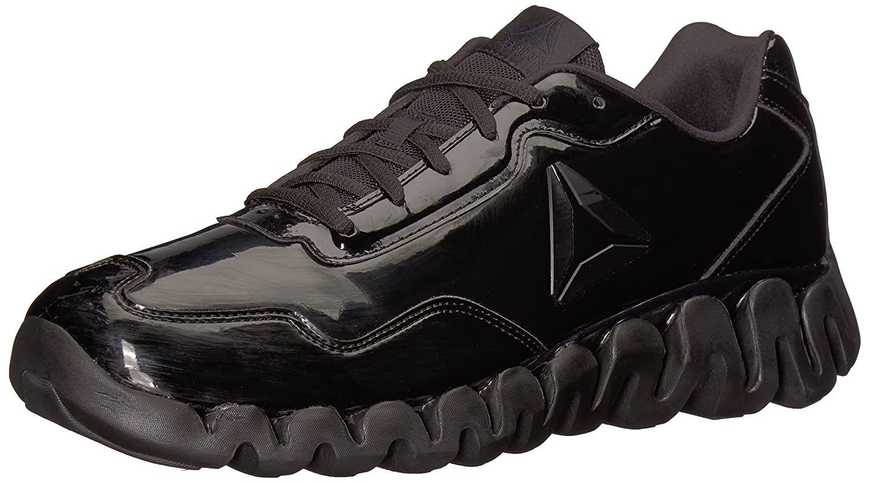 Reebok Zigpulse Le Ref Shoeメンズバスケットボール B06XF42BKX 12 D(M) US|Black/Black/Patent Black/Black/Patent 12 D(M) US