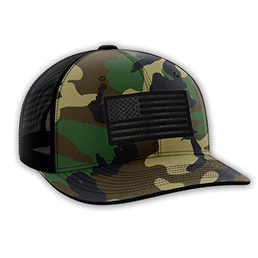 The Fighting Forces Military Camo USA Flag Snapback Hat at Amazon ... 2b2b9bacf1bc