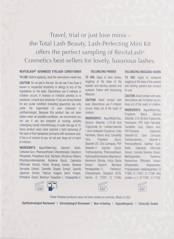305ee685965 Amazon.com: RevitaLash Cosmetics, Total Lash Mini Kit: Luxury Beauty