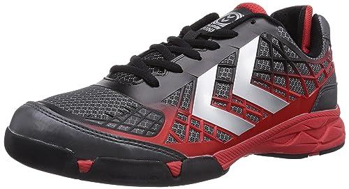hummel HUMMEL CELESTIAL - Zapatillas deportivas para interior de material sintético unisex, color gris, talla 46,5: Amazon.es: Zapatos y complementos