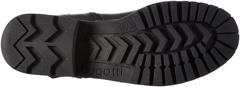 Bugatti Damen 421322321000 Stiefel Schwarz (Schwarz) (Schwarz) Schwarz 114622