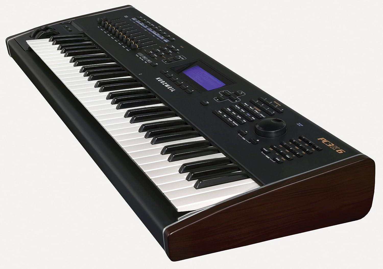 Kurzweil pc3 K6 Pack de sintetizador Workstation + kore64 tarjeta de extensión ROM + pc2srib controlador de cinta negro: Amazon.es: Instrumentos musicales