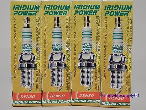 DENSO # 5358 IRIDIUM Power Spark Plugs -- IK20L ----- 4 PCS * NEW *