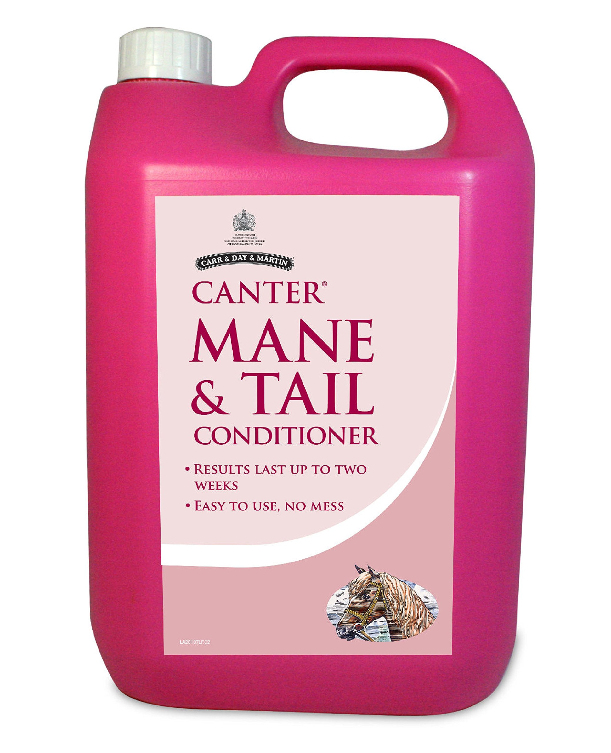 Canter Mane and Tail Conditioner 5 liter refill by Carr & Day & Martin