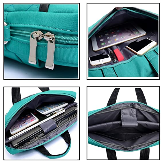 bf5aa95f9f5d ZYSTERT 14 Inch Laptop Bag Shoulder Bag With Strap Multi-Compartment  Messenger Hand Bag Briefcase for Laptop/iPad ...