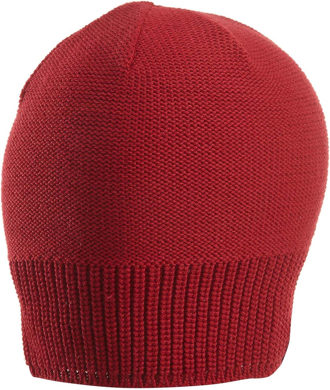 Nike Mens Jordan Jumpman Knit Beanie Skull Cap Cool Grey (Gym Red)