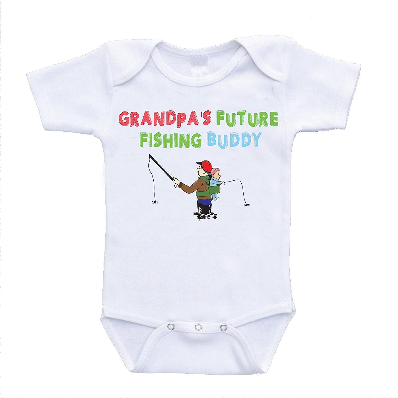 Amazon Grandpa s Future Fishing Buddy esies Grandpa Baby