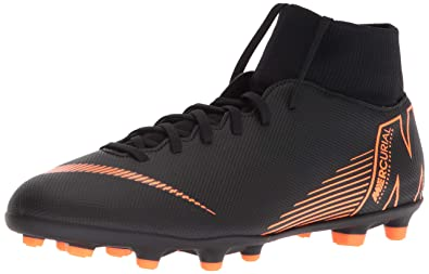 pretty nice 31ff8 64117 Nike Mercurial Superfly 6 Club MG (Black/Total Orange) (Men's 6.5/Women's 8)