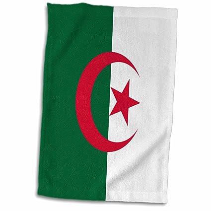 Amazon Com 3drose Flag Of Algeria Algerian Green White Red Islamic