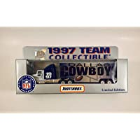 $24 » Matchbox White Rose 1997 NFL DALLAS Team Collectible 1:80 Scale Diecast Tractor Trailer…