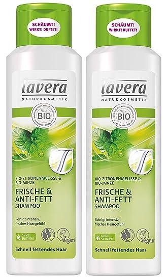 Lavera Haar Shampoo Frische Anti Fett Zitronenmelisse