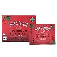 Four Sigmatic Cordyceps Mushroom Elixir, Organic Cordyceps Mushroom Powder with...