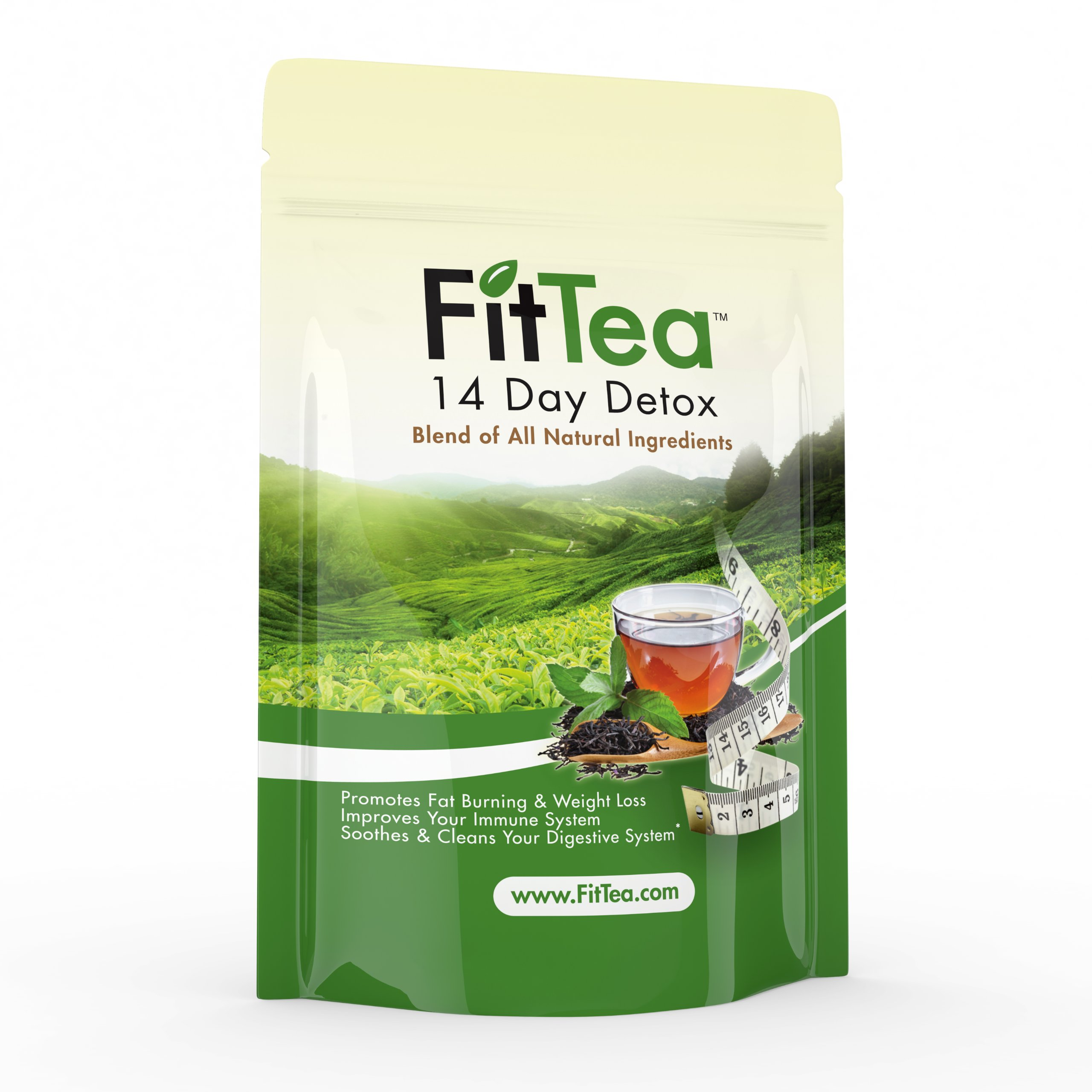 Fit Tea 14 Day Detox Herbal Weight Loss Tea- Natural Weight Loss, Body Cleanse and Appetite Control by Fit Tea