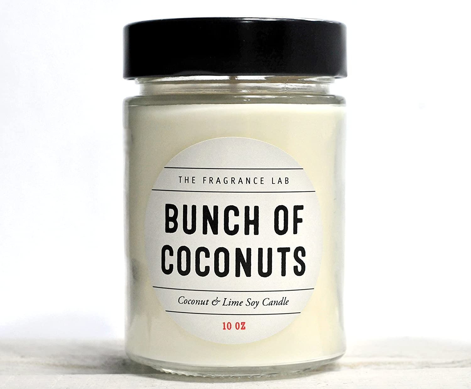 Soy Candles -Bunch of Coconuts Coconut Lime Scented | The Fragrance Lab