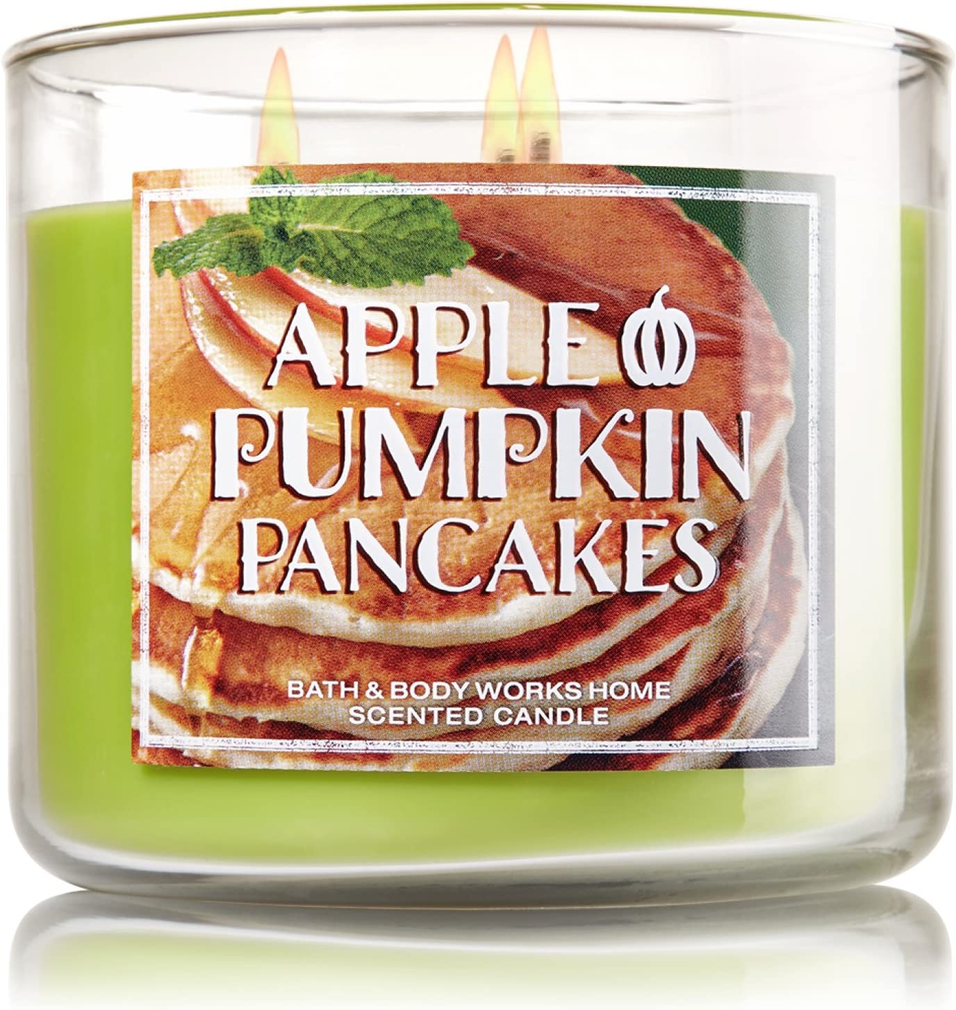Bath and Body Works Apple Pumpkin Pancakes 3 Wick 14.5 Oz Candle