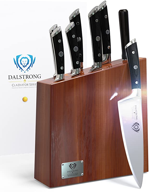 DALSTRONG Gladiator Wood Knife Block Set Review