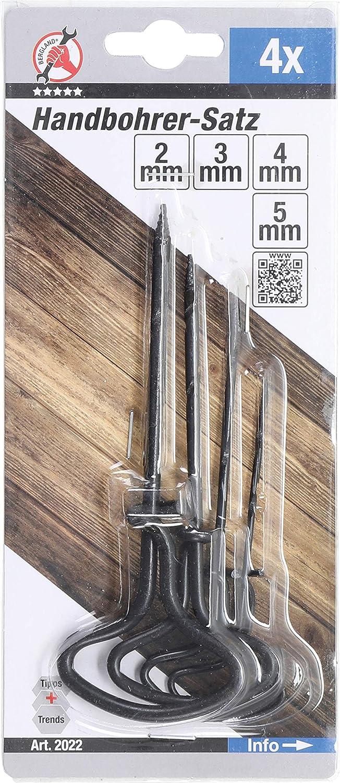 Auger Set 4 pcs. 2-5 mm Kraftmann 2022