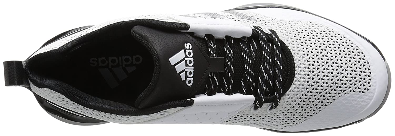 save off 8866f 26761 adidas Originals Hombre Freak X Carbon Mid Cross Trainer Blanco   Plata  Metálico   Negro