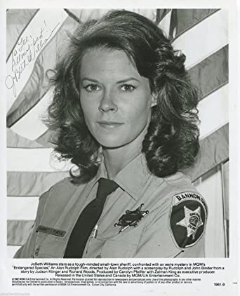 JoBeth Williams Signed Endangered Species 8x10 Photo Inscribed To Lee