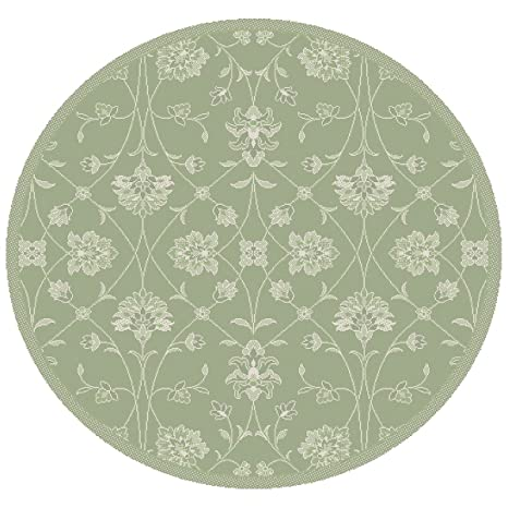 Amazon.com: dynamic rugs Piazza redondo 2744 – 4808 verde ...