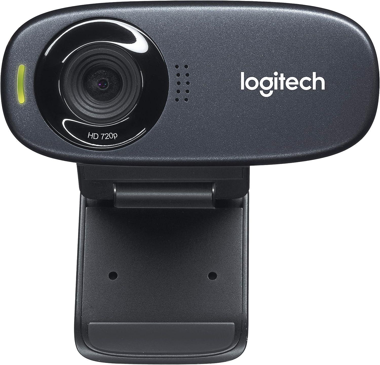 Amazon Com Logitech Hd Webcam C310 Standard Packaging Black