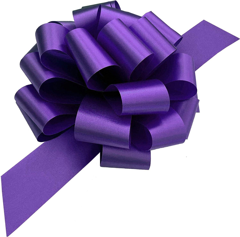 Purple Shimmer XMBN-019 5 XL Shiny Metallic Bow