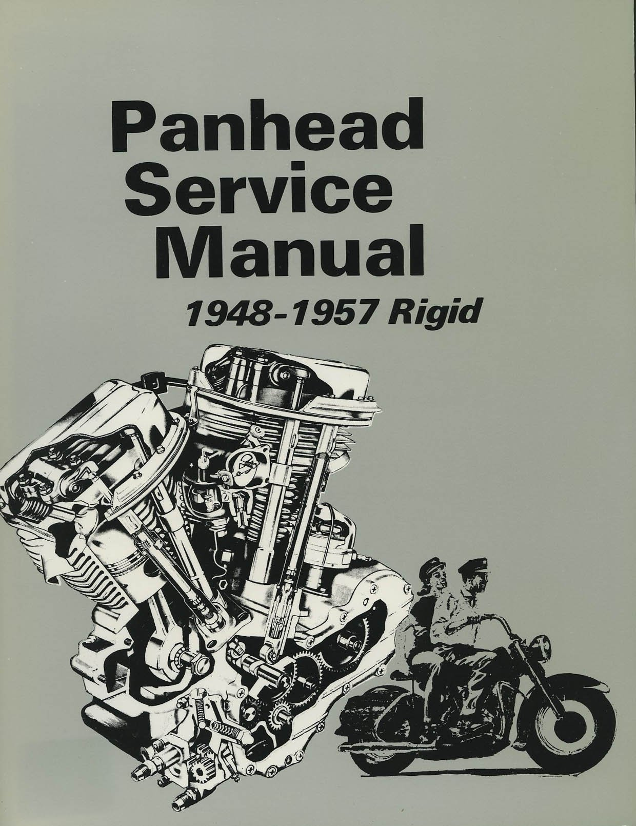 Harley-Davidson Panhead Service Manual 1948-1957 Rigid: T. Noel:  Amazon.com: Books