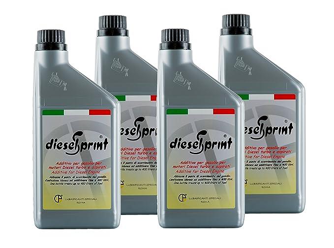 26 opinioni per 4 LITRI (4 flaconi da 1000 ml) DIESELSPRINT Additivo multifunzione per motori