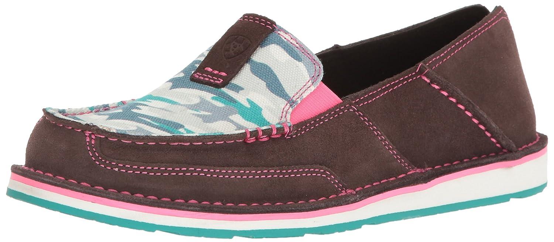 Ariat Women's Cruiser Slip-on Shoe B01ND1MKGN 7.5 B(M) US|Aged Coffee Suede