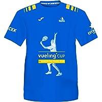 Barcelona Padel Tour   Camiseta Manga Corta Técnica Vueling Cup Hombre   Estampación Especial de Pádel   De Tacto Suave…