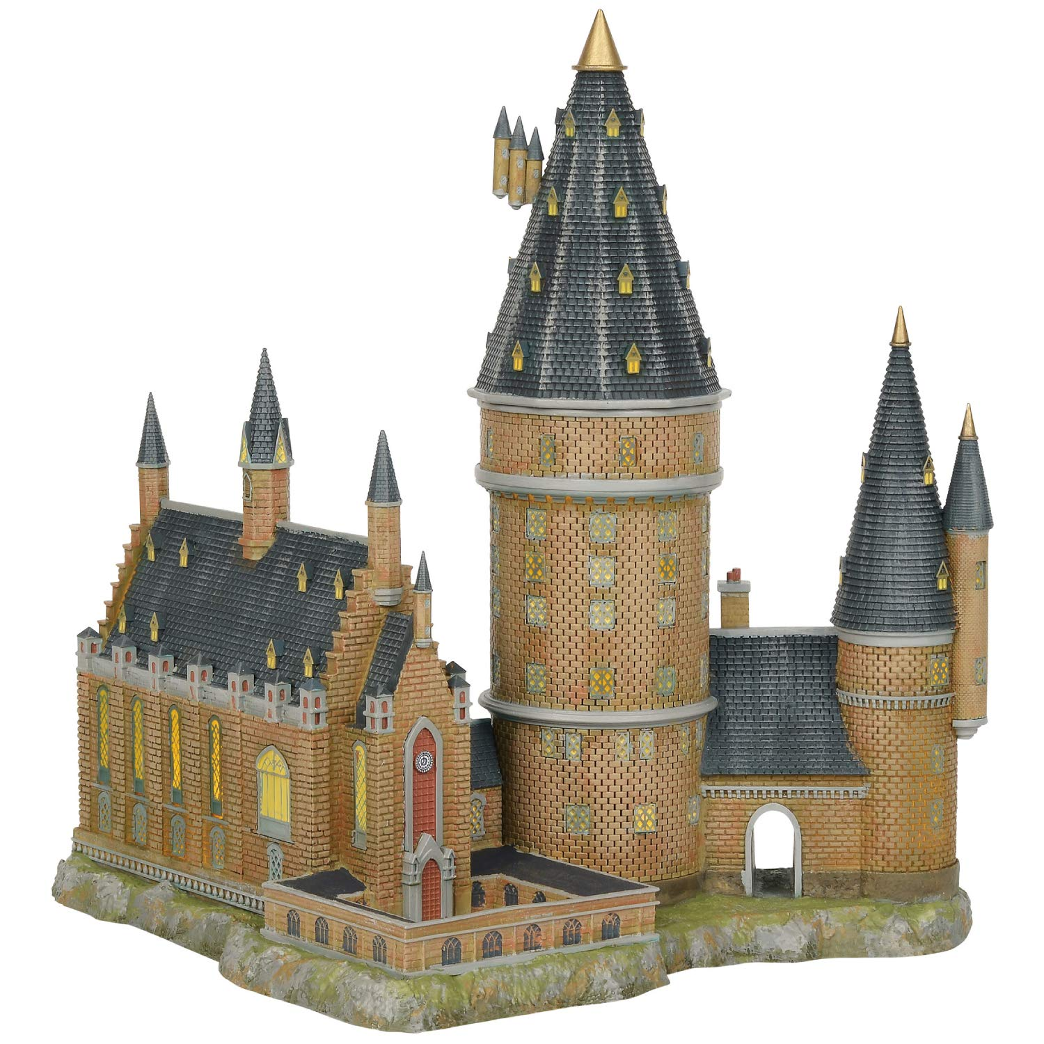 Department56 Harry Potter Village Hogwarts Hall and Tower Lit Building, 13.07'', Multicolor by Department56