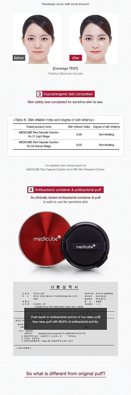 Amazon Com Medicube Red Capsule Cushion Foundation 15g Korean