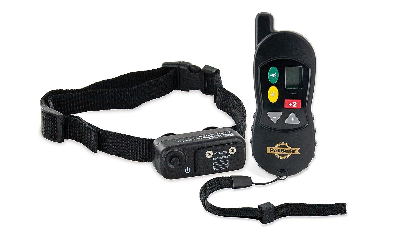 PetSafe Collier de Dressage Gros Chien avec Télécommande - Ecran Digital - 16 Niveaux de Stimulation - Mode Signal sonore seul - Portée 100 m PDT45-13474