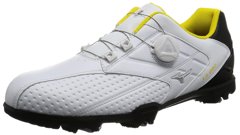 [ミズノゴルフ] ゴルフシューズ ライトスタイル 002 ボア メンズ 27.0 3E ホワイト/ブラック B01N8TTQDJ