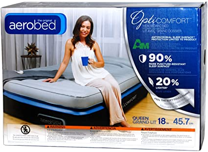 Amazon Com Aerobed Queen Size 18 Double Height Air Matress With