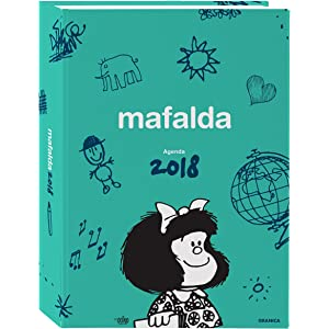Granica Mafalda - Calendario de escritorio 2018, color azul ...