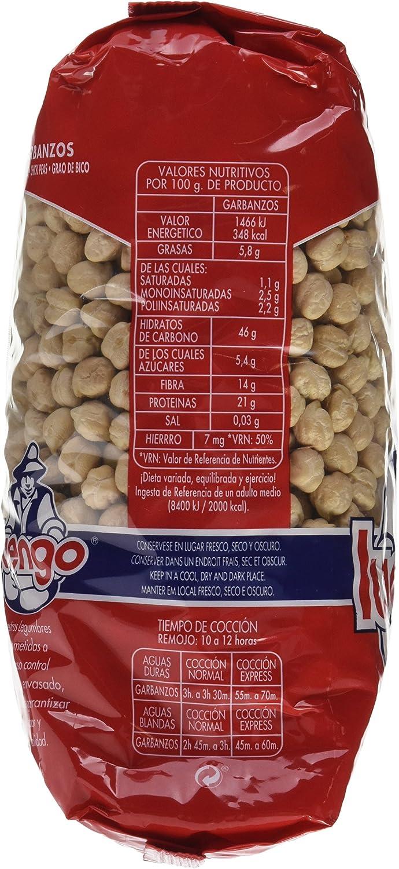 Luengo - Garbanzo Selecto En Paquetes De 1 Kg - [pack de 2 ...