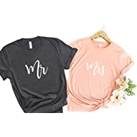 Mr and Mrs Shirt   Bride Groom Shirts   Honeymoon Shirts   Couple's Shirts   Wedding Party Shirts