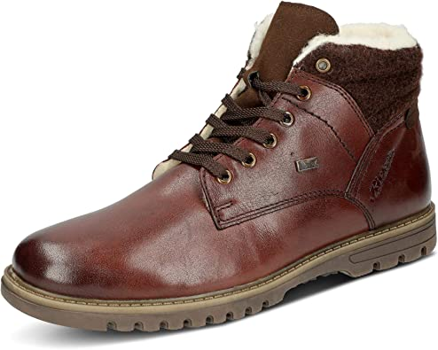 | Rieker Men Boots Brown, (HavannaKastaniemor