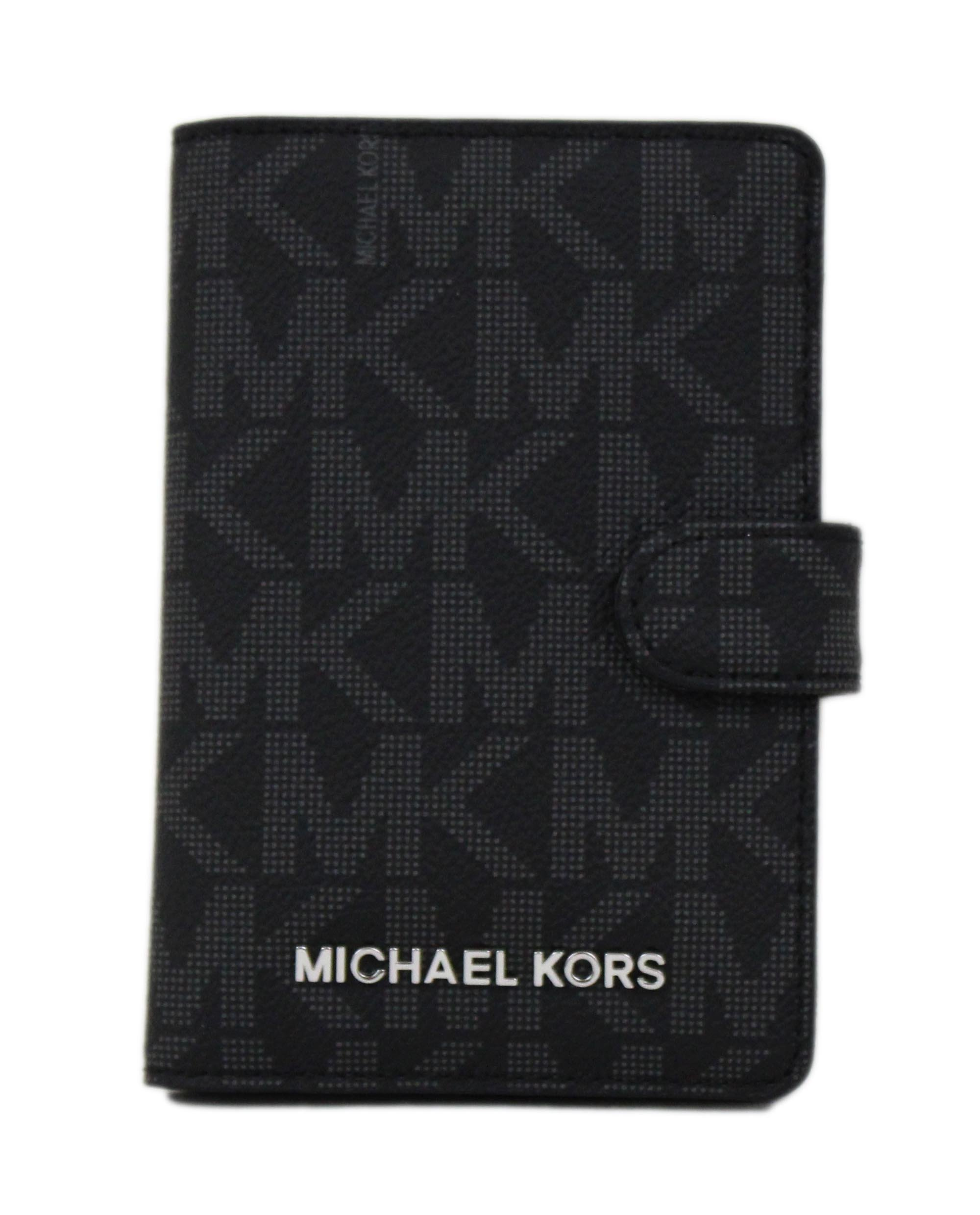 Michael Kors Jet Set Travel Passport Case - Black