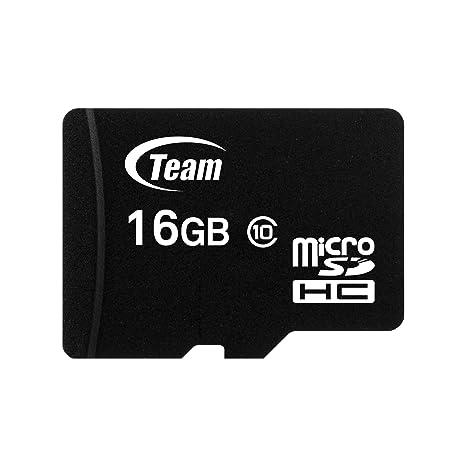Team Group Micro SD 2 GB con Adaptador SD Tarjeta de Memoria 16 GB Class 10