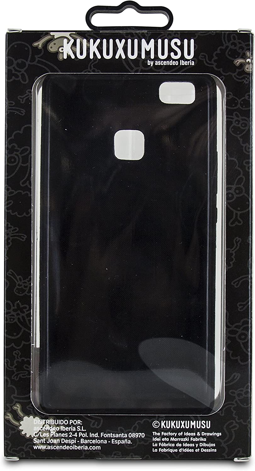 Kukuxumusu SanchoFriend - Funda TPU para Huawei P9 Lite, Color Negro: Amazon.es: Electrónica