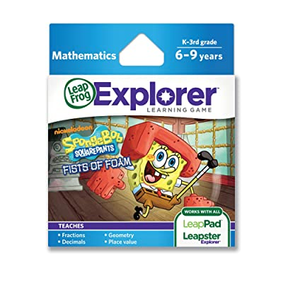 LeapFrog SpongeBob SquarePants Fists of Foam Learning Game (works with LeapPad Tablets & LeapsterGS): Toys & Games