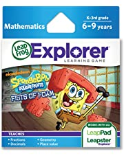 LeapFrog SpongeBob SquarePants Fists of Foam Learning Game (works with LeapPad Tablets & LeapsterGS)