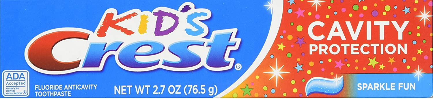 Kid's Crest Toothpaste - Cavity Protection, 2.7 oz,(Crest)